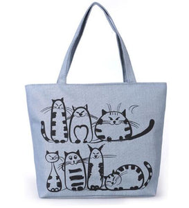 Selection of Printed Canvas Shoulder Bags