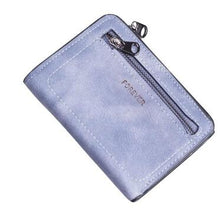 Load image into Gallery viewer, Mini PU Leather Purse with Zip Pocket