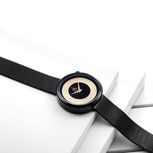 Load image into Gallery viewer, SK Stainless Steel Metal Mesh Strap Quartz Watch - Available in Multiple Colours