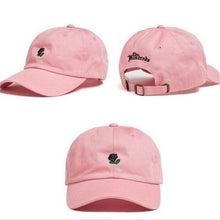 Load image into Gallery viewer, Rose Embroidered Cotton Baseball Cap - Available in Multiple Colours