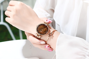 CURREN Stainless Steel PU Leather Strap Quartz Watch - Available in Multiple Colours