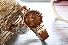 Load image into Gallery viewer, CURREN Stainless Steel PU Leather Strap Quartz Watch - Available in Multiple Colours