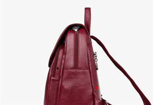 PU Leather Backpack - Available in Multiple Colours