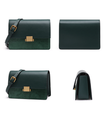 Load image into Gallery viewer, Luxury Split Leather Cross-Body Bag - Available in Multiple Colours