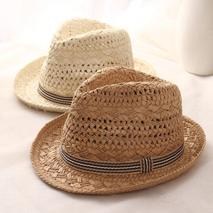 Classic Straw Summer Hat - Available in Multiple Sizes and Colours