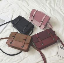 Load image into Gallery viewer, Vintage PU Leather Cross-Body Bag