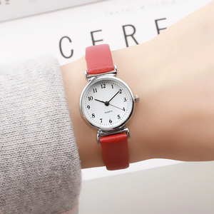 Retro PU Leather Strap Mini Quartz Watch - Available in Multiple Colours