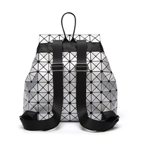 Load image into Gallery viewer, Luminous Geometric PU Leather Backpack - Available in Multiple Colours