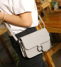 Load image into Gallery viewer, Suede Effect PU Leather Cross-Body Bag
