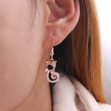 "Load image into Gallery viewer, ""I Love You"" in 100 Languages Earrings - Available in Multiple Shapes and Colours"