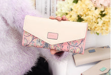 Load image into Gallery viewer, Luxury Floral Patterned PU Leather Purse