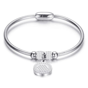 Stainless Steel Bangle Bracelet - Available in Multiple Colours