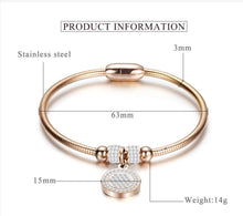 Load image into Gallery viewer, Stainless Steel Bangle Bracelet - Available in Multiple Colours