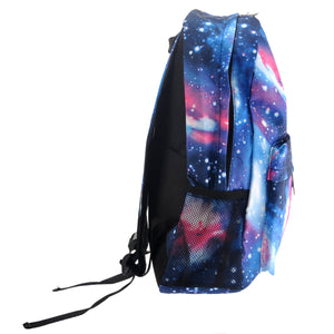 Blue Starry Sky Print Backpack