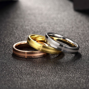Tri-Coloured Set of 3 Rings - Available in Multiple Sizes