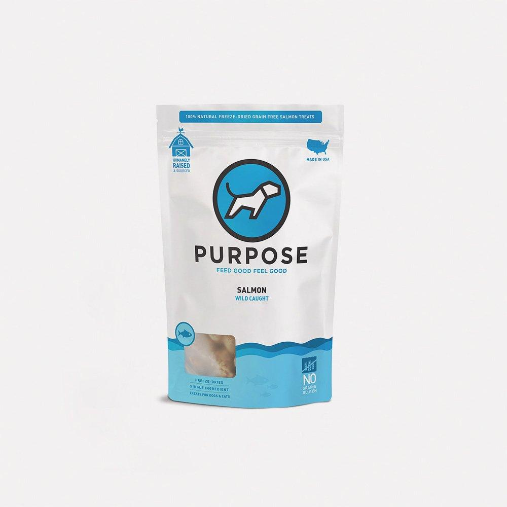 Salmon Bites Freeze-Dried Raw Dog Treats - PURPOSE PET FOOD