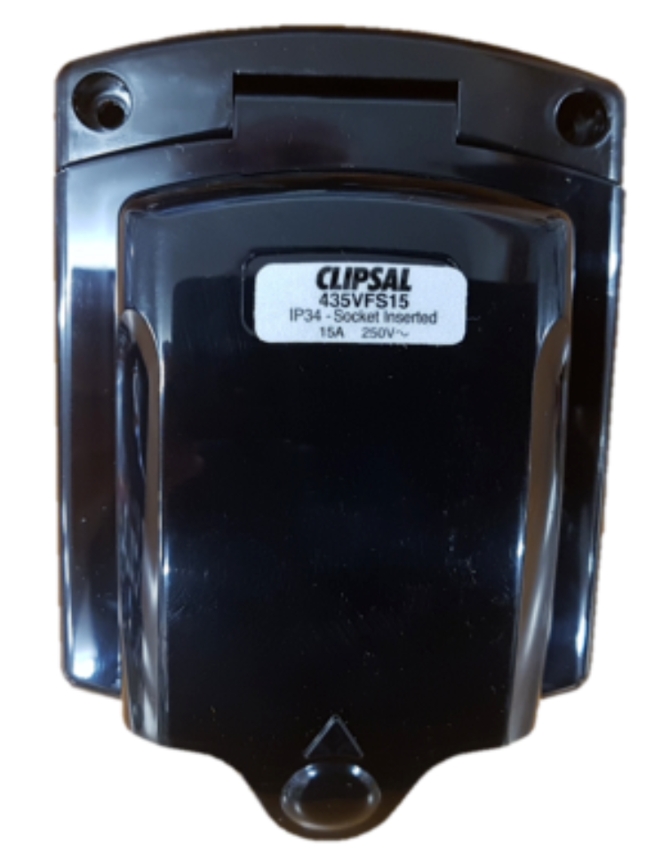 CLIPSAL 240V 15A POWER INLET
