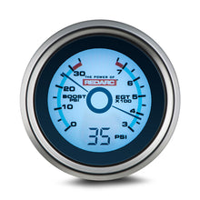 Load image into Gallery viewer, REDARC EGT & BOOST PRESSURE 52MM GAUGE WITH OPTIONAL OIL PRESSURE DISPLAY