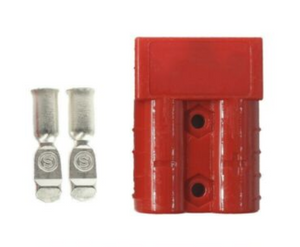 RED 50A SOLAR ANDERSON PLUG