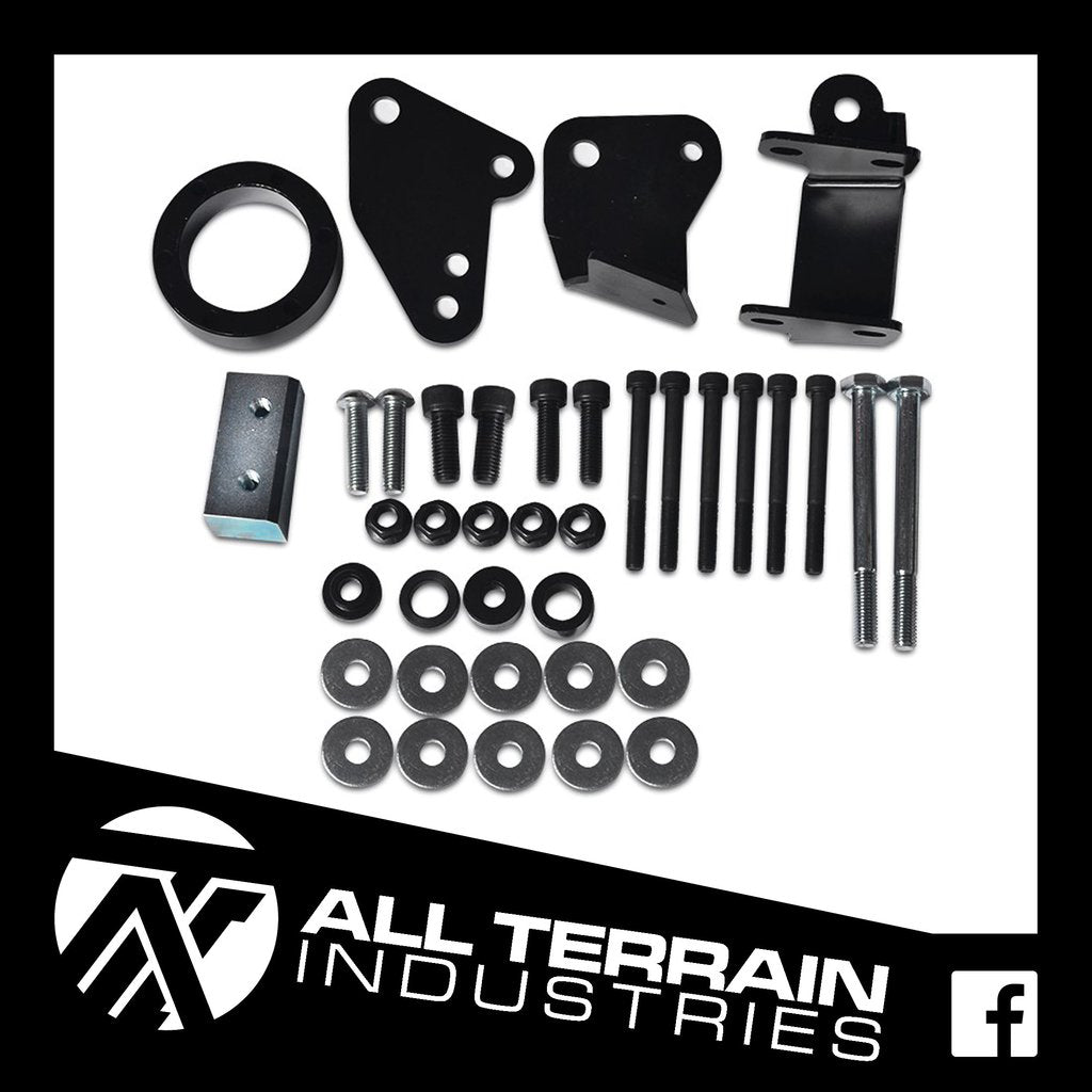 ATI 25MM DIFF DROP KIT - MAZDA BT50/FORD RANGER & EVEREST 2011-CURRENT