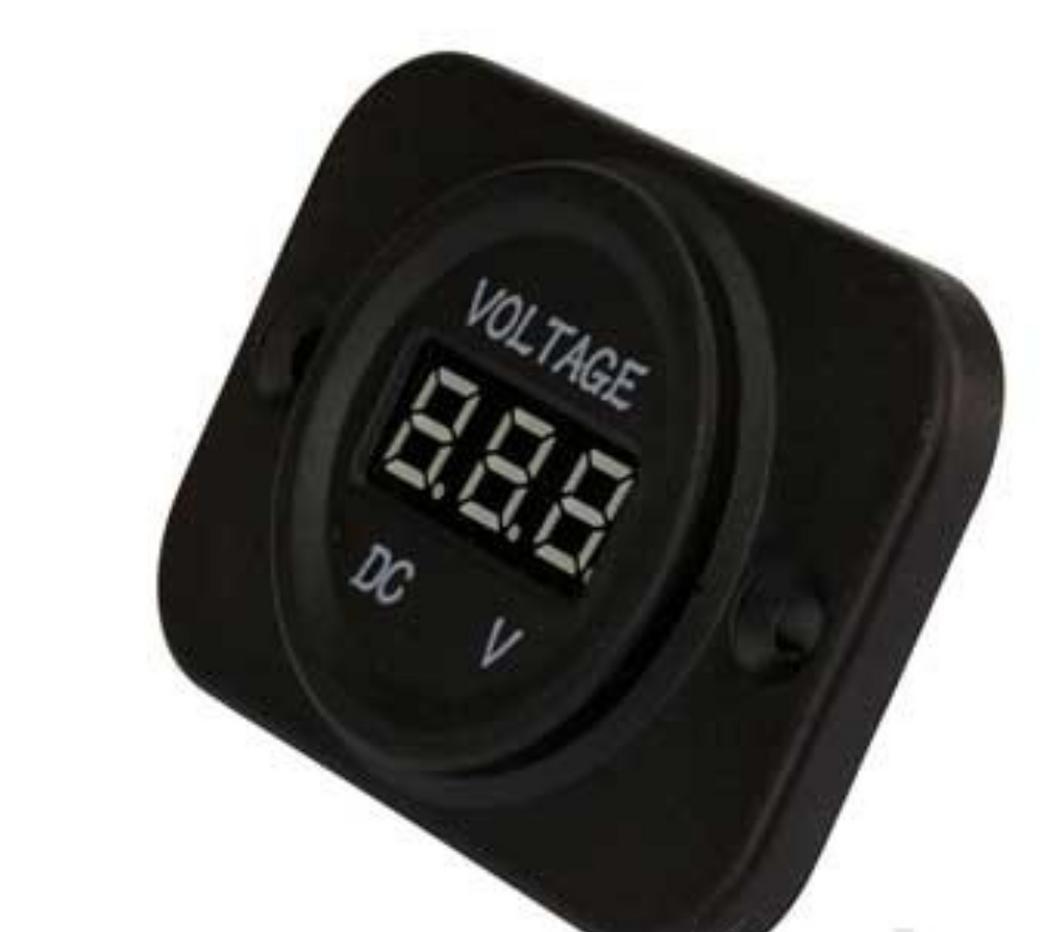 SINGLE VOLTMETER / PANEL MOUNT