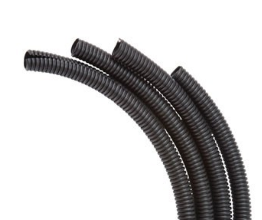 SPLIT LOOM TUBE 16mm x 10m (BLACK)