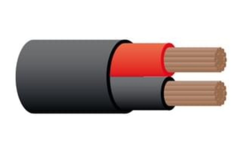6B&S TWIN CORE CABLE (82A)