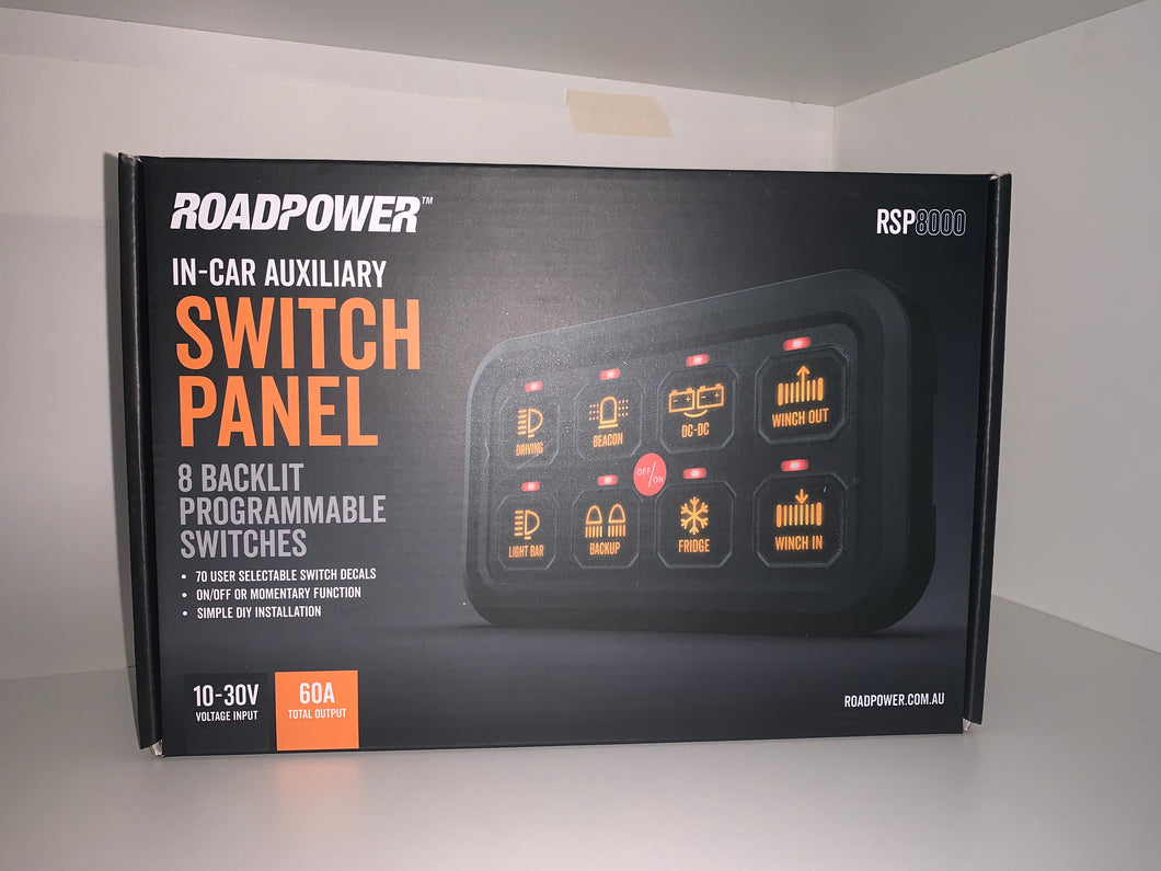 ROADPOWER SWITCH PANEL