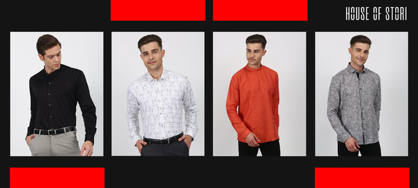 Must have shirts in men's wardrobe