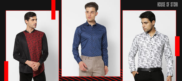 3 must have men's party wear shirts