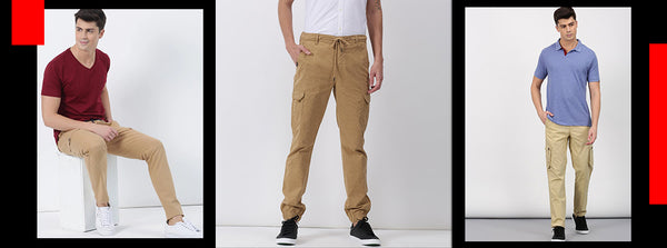 Top 3 ways to don cargo pants for men