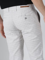 Grey Checked Ultra Slim Fit Trouser
