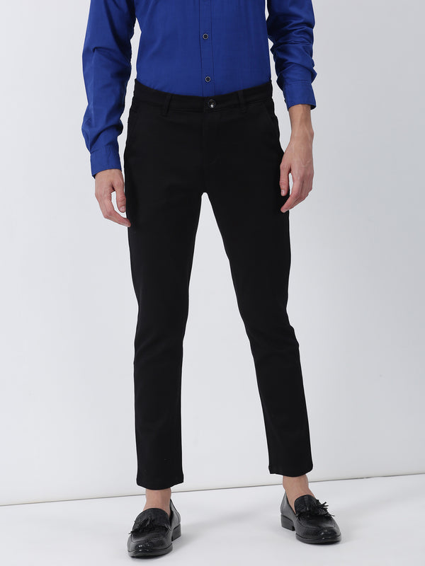 Black Plain Ultra Slim Fit Trouser