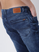 Medium Blue Plain Ultra Slim Fit Jeans