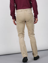 Sand Plain Slim Fit Trouser