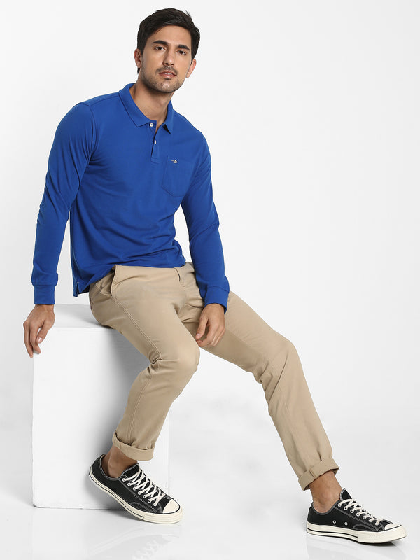 Royal Blue Plain T-shirt