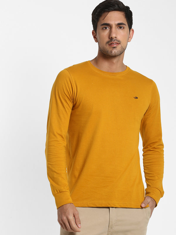 Gold Plain T-shirt