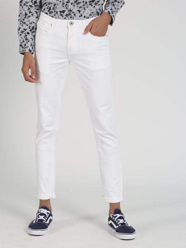 White Plain Dean Fit Jeans