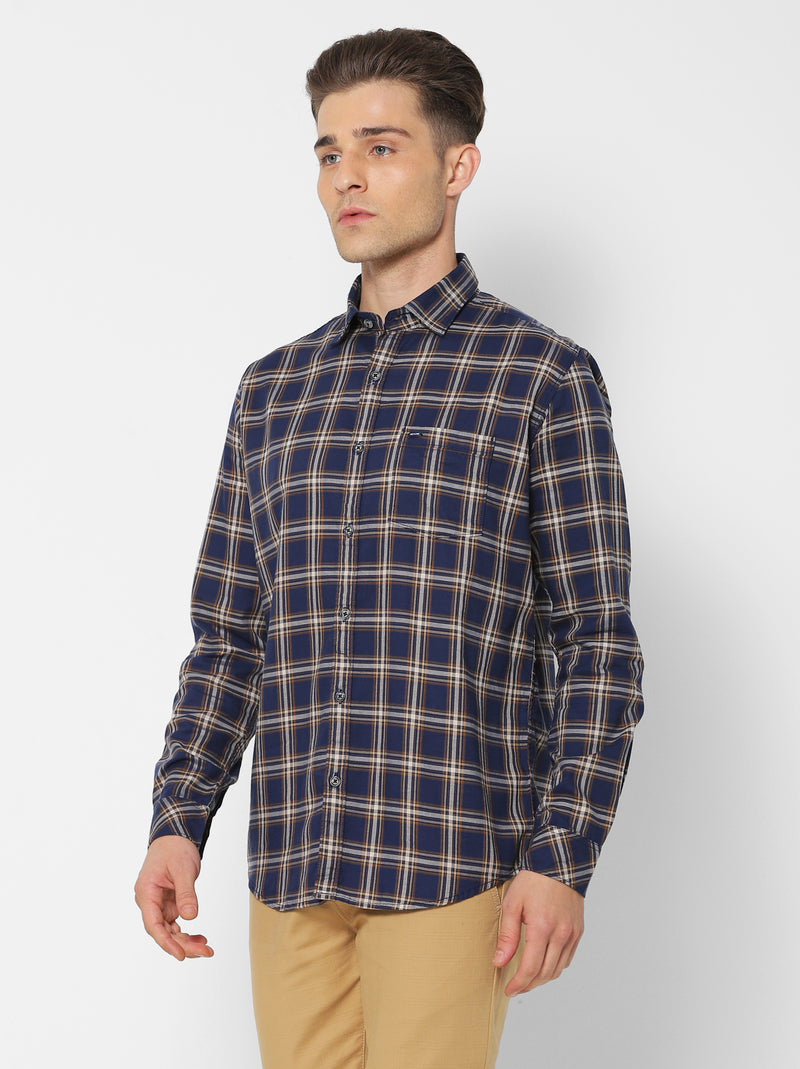 Multi Checked Casual Shirt