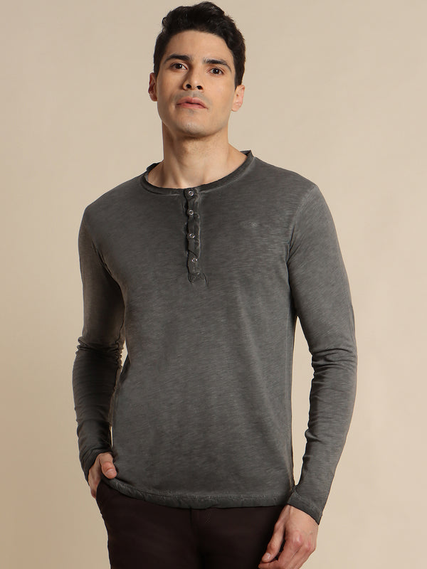 Grey Plain T-Shirt