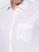 White Plain Formal Shirt