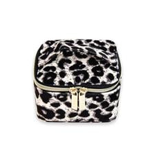 The Cube Luxe Velvet Animal Print