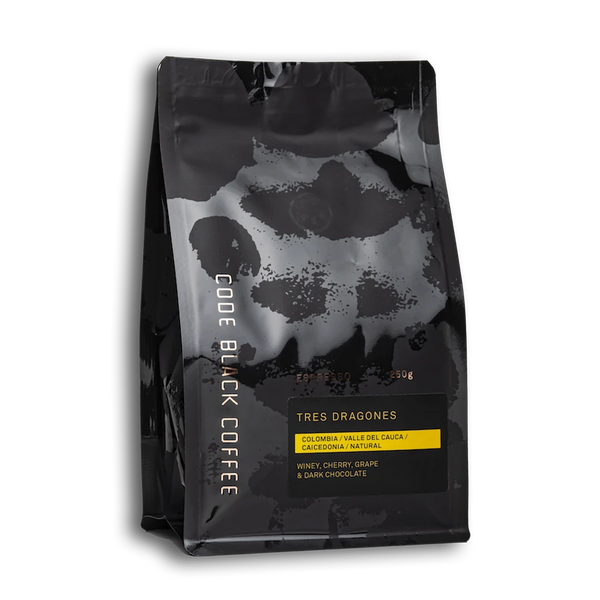 Code Black Coffee - Colombia Tres Dragones Espresso