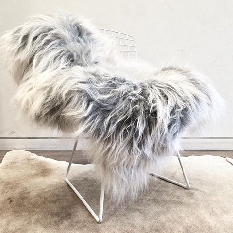 Icelandic Sheepskin - Natural Grey