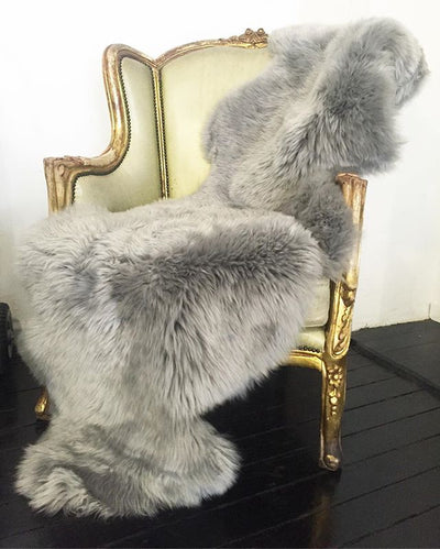 Australian Merino Sheepskin - Grey Double
