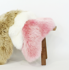 Long Wool Sheepskin - Orchid