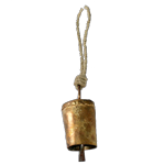 Brass Bell with Jute String