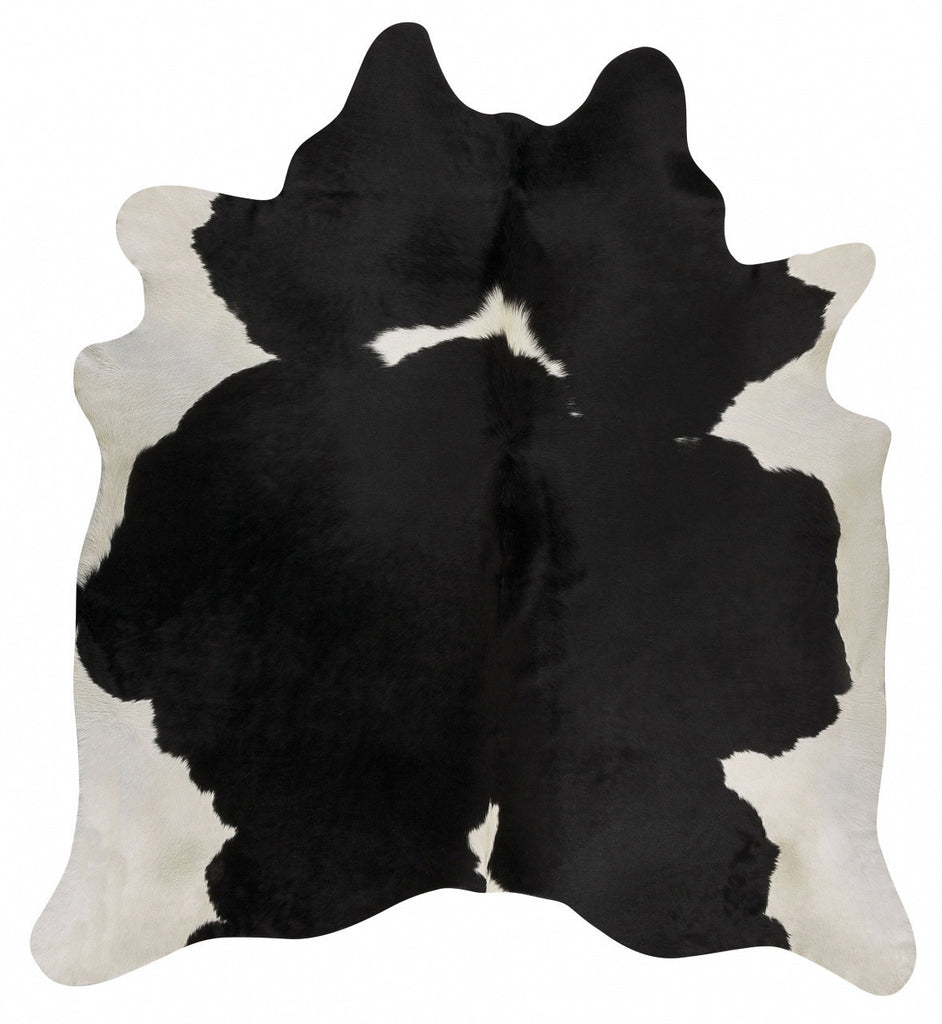Premium Cowhide - Black White