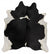 Premium Cowhide - Natural Black & White