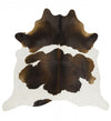Premium Cowhide - Natural Chocolate Reddish Brown
